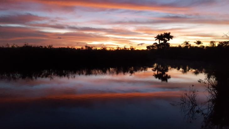 sunset-in-everglades