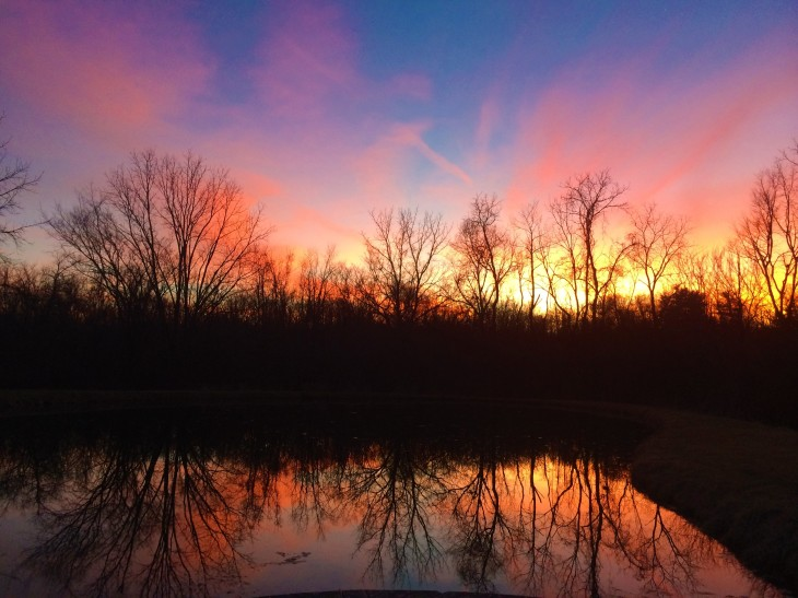 sunset-over-holthouse-pond